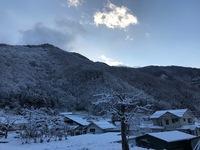長野市の新年の様子(里も積雪しています)