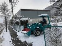 1月の除雪の様子