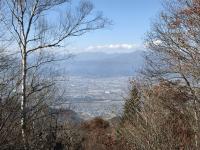 妙徳山頂からの眺望 長野市